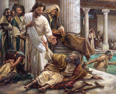 Jesus Heals Lame Man Craft http://www.swordofthespirit.net/bulwark/feb2011p5.htm